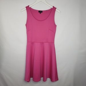 The Limited Hot Pink Fit and Flare Dress